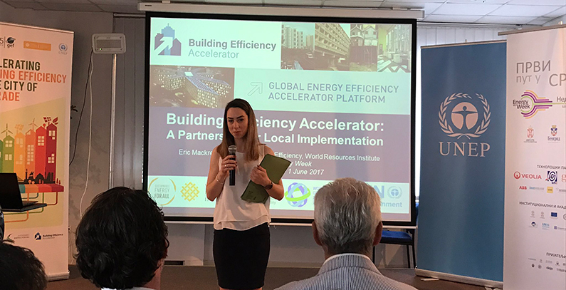 UNEP facilitating Belgrade's participation in two UN SE4All initiatives: BEA and DES workshops