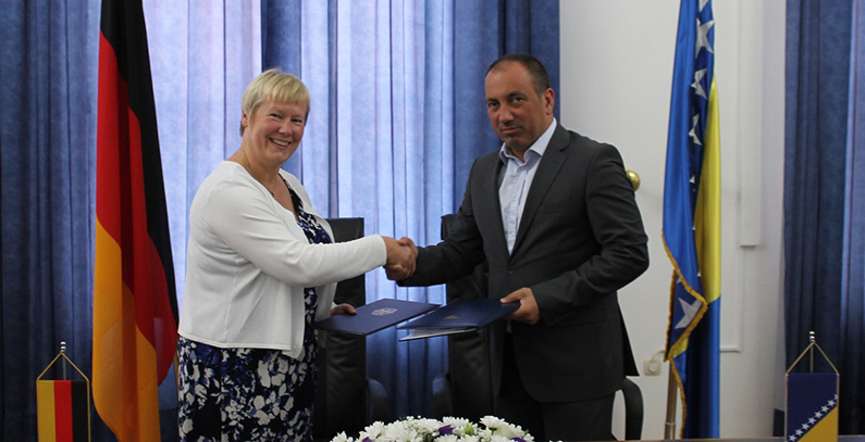 EUR 19 million for environmental projects in Bosnia and Herzegovina