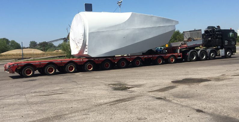 Delivery of turbines for Malibunar wind farm in Serbia started