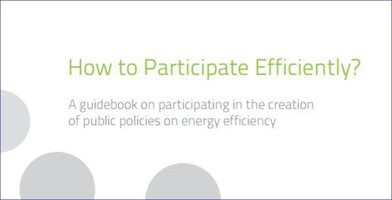 Objavljen novi vodič za javnu politiku o energetskoj efikasnosti