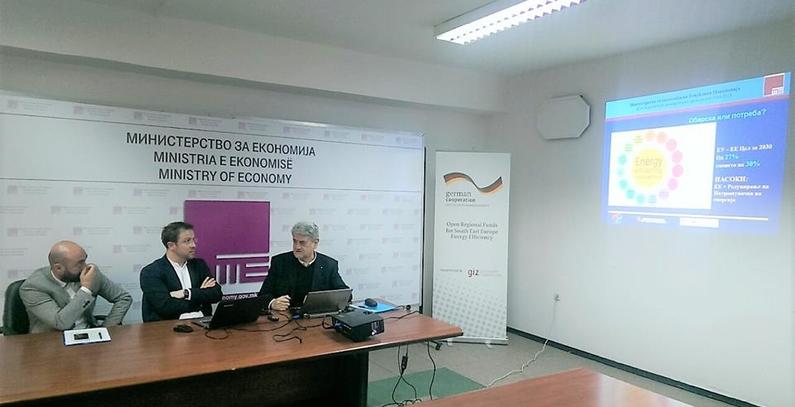 Makedonskoj javnosti predstavljen treći NEEAP
