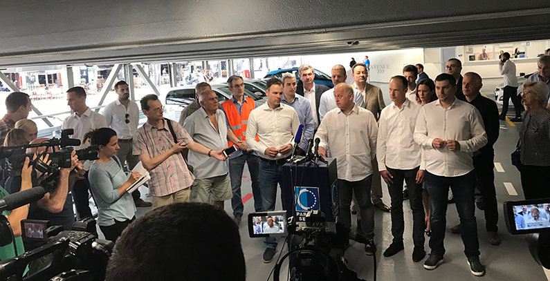 Otvorena prva pametna parking garaža u Beogradu, punjači za električna vozila deo nove infrastrukture
