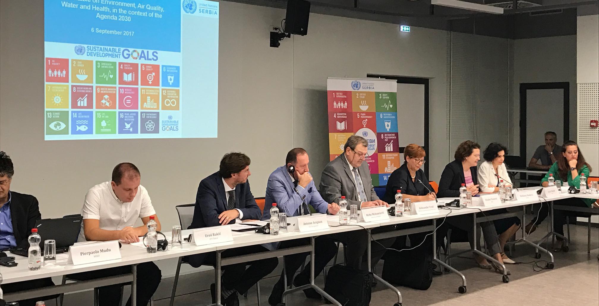 Pred Srbijom izazov unapređenja kvaliteta vazduha i vode u cilju zaštite zdravlja stanovništva