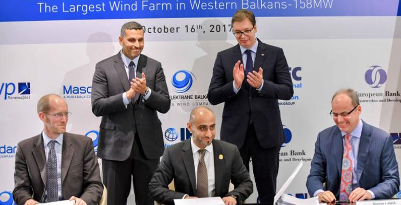 Ažurirano: EBRD i IFC finansiraju vetropark Čibuk 1 of 158,4 megavata
