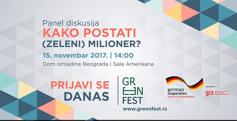 Panel o zelenom preduzetništvu: Kako postati (zeleni) milioner