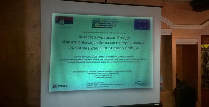 Projekat Katastar rudarskog otpada u Srbiji kao primer dobre prakse