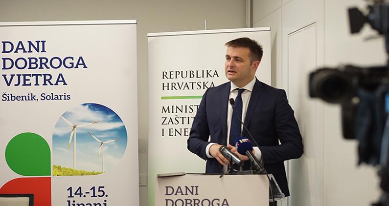 Ministar Ćorić najavio predlog novog zakona o obnovljivim izvorima energije