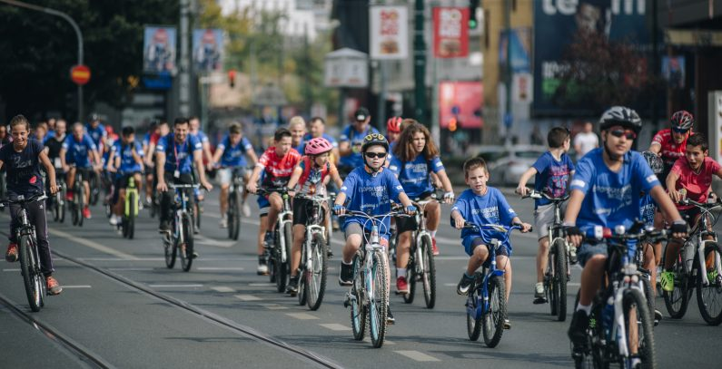 Pod pokroviteljstvom GIZ ORF-EE organizovana biciklijada u okviru Evropske nedelje mobilnosti