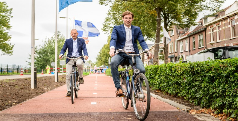 Otvorena prva biciklistička staza na svetu od reciklirane plastike