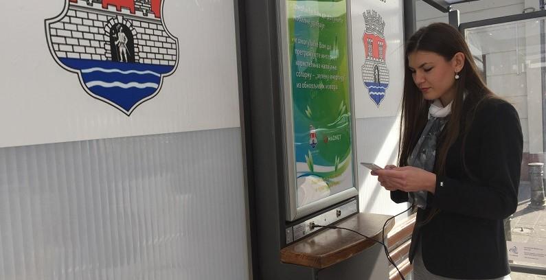 Pančevo dobilo tri pametna autobuska stajališta koja koriste solarnu energiju