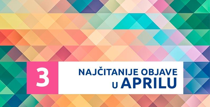 Najčitanije u aprilu: Dekan i MHE, studenti ETF-a, Albanija raskida koncesije za HE