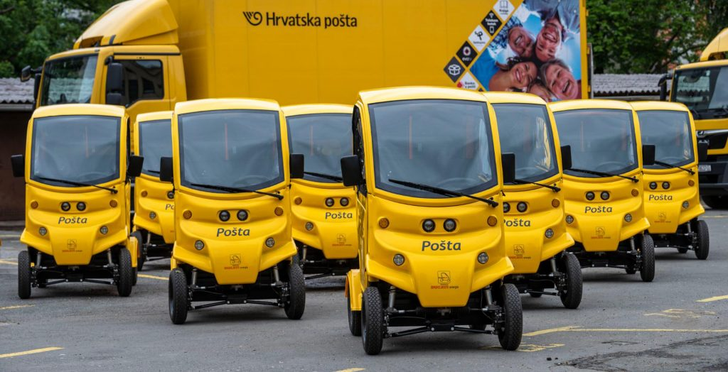 Hrvatska pošta zazelenela vozni park novim električnim vozilima