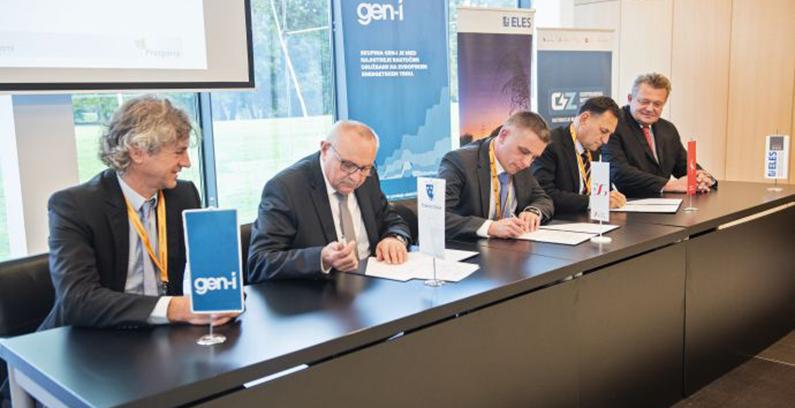 Elektro Celje, Elektro Gorenjska i Elektro Ljubljana se pridružili konzorcijumu ELES/GEN-I za zelenu transformaciju Slovenije
