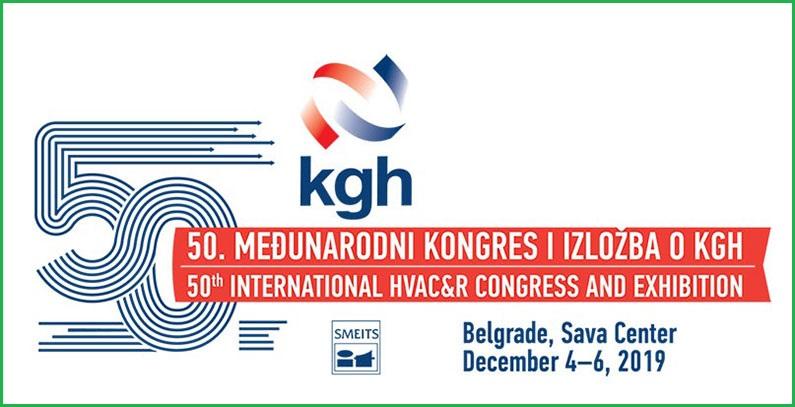 50. Međunarodni kongres i izložba o KGH od 4. do 6. decembra u Beogradu
