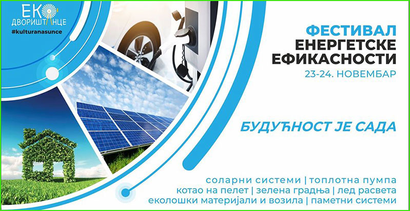 EKO dvorištance organizuje Festival energetske efikasnosti – osvojite solarni panel