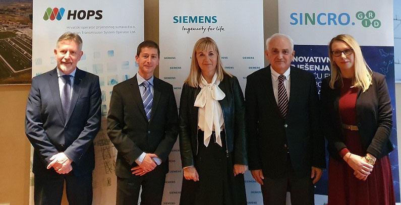 Siemens i HOPS potpisali ugovor vredan 14,1 milona evra u okviru projekta Sincro.Grid