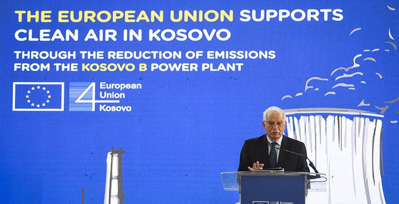 KEK započeo projekat za smanjenje zagađenja vazduha iz TE Kosovo B