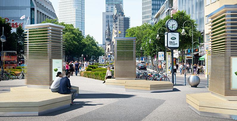 Pametni zidovi mahovine pročišćavaju vazduh na ulicama Londona