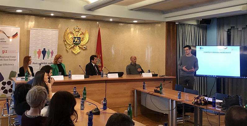 Održiva urbana mobilnost u fokusu na skupu za poslanike u Crnoj Gori