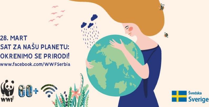 Sat za našu planetu – Okrenimo se prirodi i ugasimo svetla 28. marta u 20.30