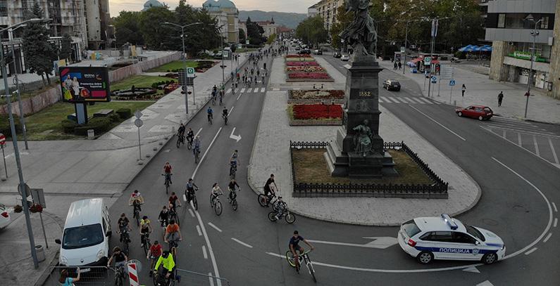 Krusevac osvojio nagradu Evropske nedelje mobilnosti