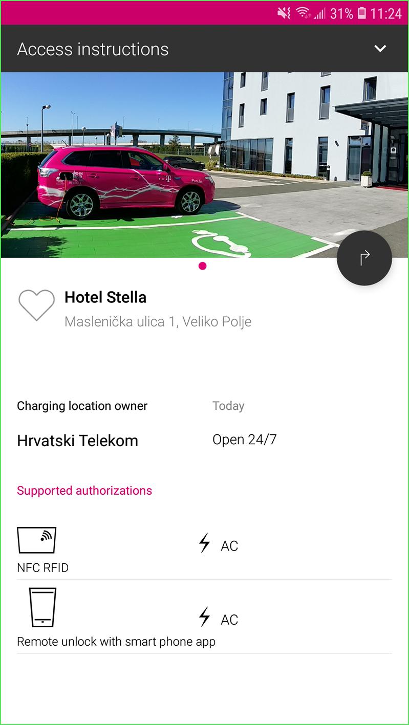Hrvatski Telekom espoTs aplikacija