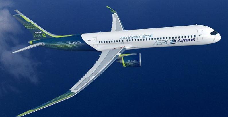 Airbus koncepte hibridne avione na vodonik