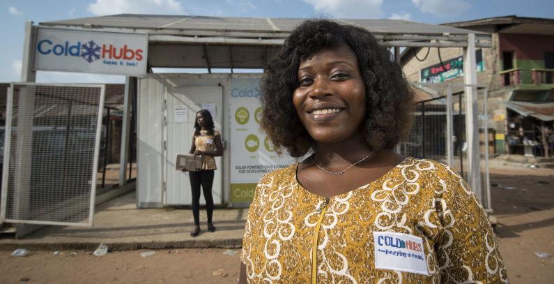 ColdHubs napaja rashladne komore za hranu iz solarnih panela