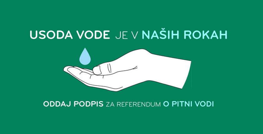 slovenija odrzava referendum pijaca voda