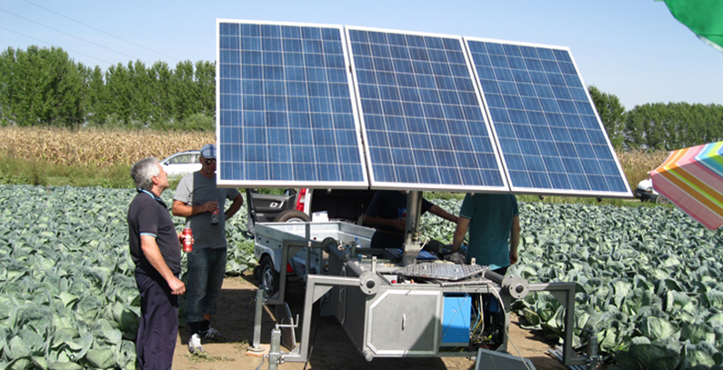 MobiSun – pro Energy: the mobile robotic solar electric generator