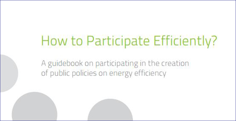 New guide out for public policy on energy efficiency