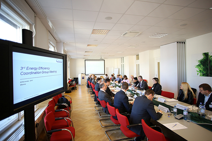 Third Energy Efficiency Coordination Group Meeting, Vienna, Austria, 2013