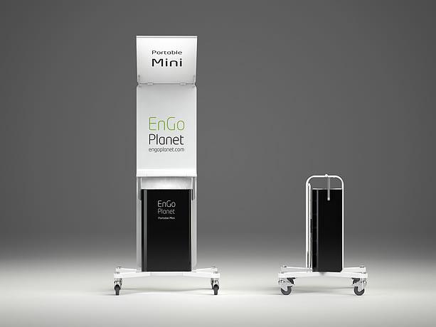 Portable solar mini charger