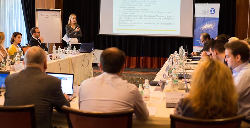 Multi-level Governance for Energy Efficiency (multEE) meeting hosted by GIZ