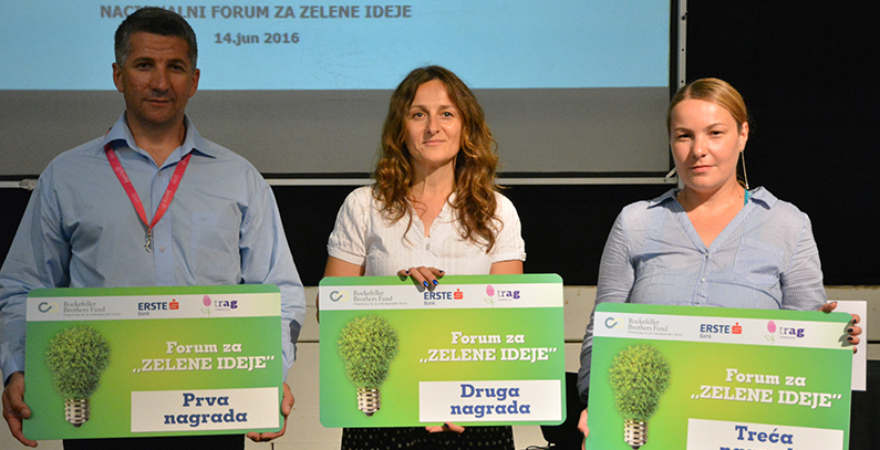 Fourth Forum for Green Ideas picks projects for awards