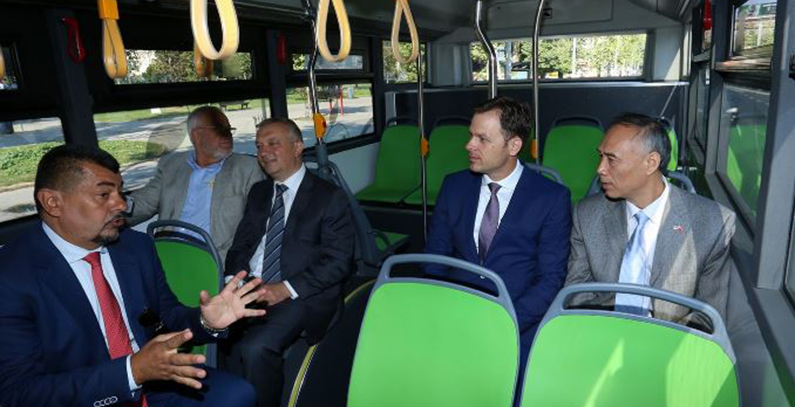 Belgrade gets public transport line with electric buses