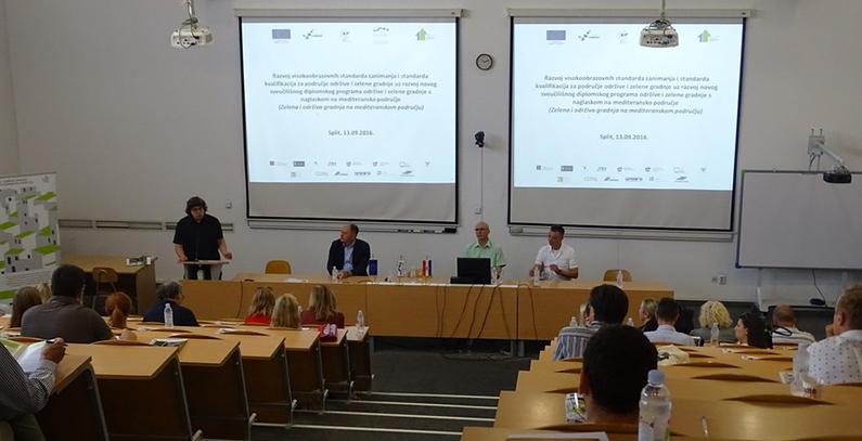 FGAG Split starts new graduate program for sustainable building from 2018