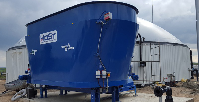 Biogas cogeneration plant opened in Botos