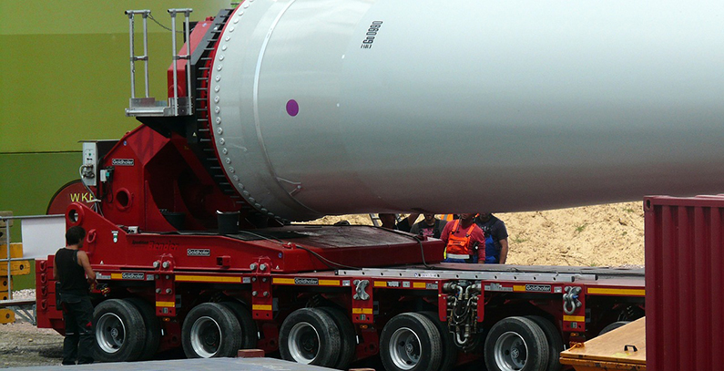 All rotors installed at Krnovo wind power plant