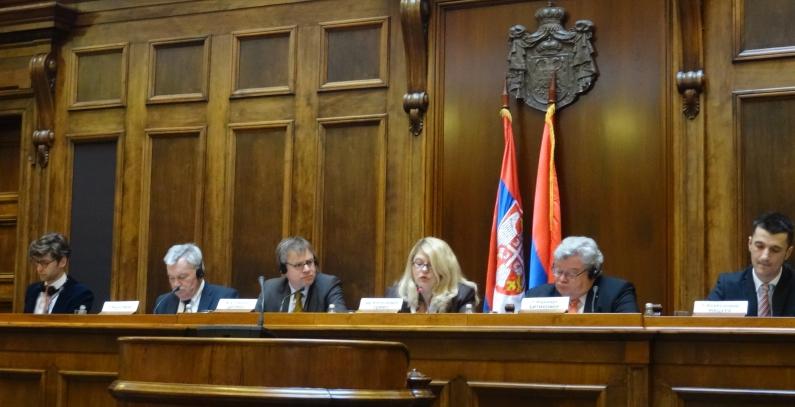 German green expertize presented in Serbian Parlament
