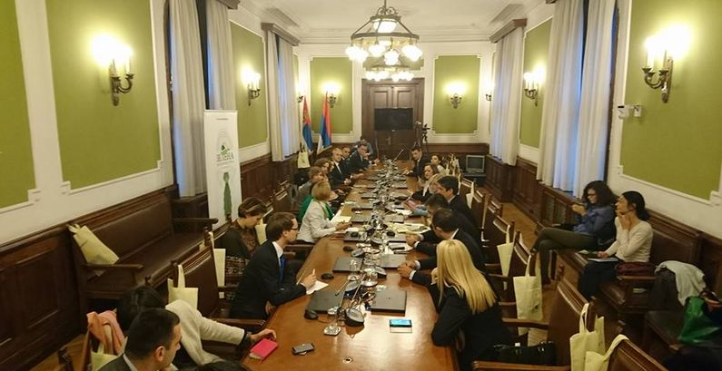 Green Parliamentary Group renewed in Serbian National Assembly