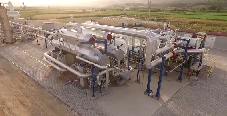 Exergy's Denizli Tosumlar ORC geothermal plant in Turkey wins top plant award