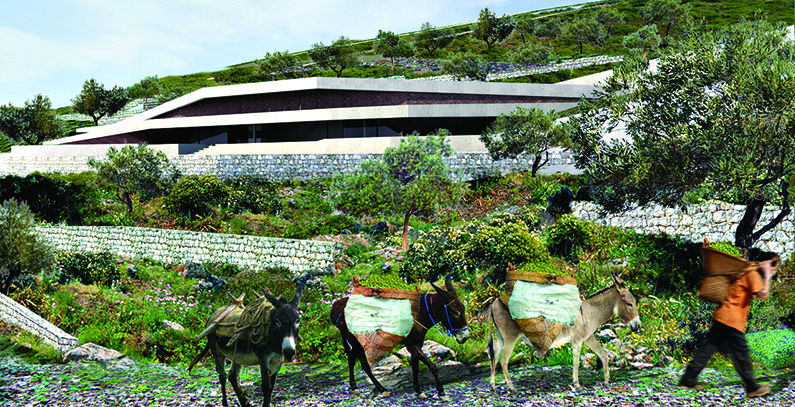 Issa Grotto Hill House – energy self-sufficient house on Vis island