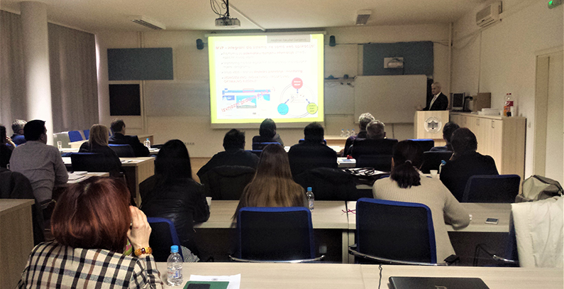 MVP application presented to engineers at Faculty of Mechanical Engineering in Sarajevo
