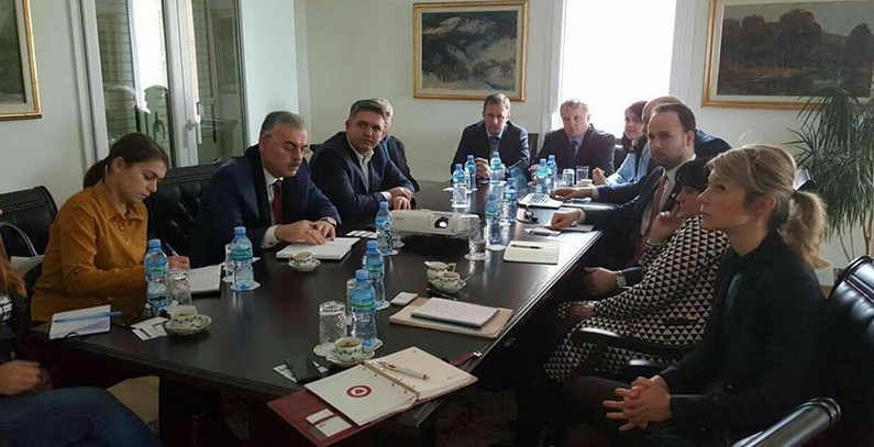 Hungarian company interested in improving water and wastewater management in Albania