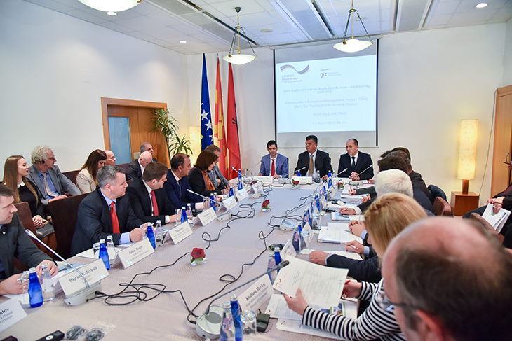 GIZ Transboundary Ecosystem Management project launch