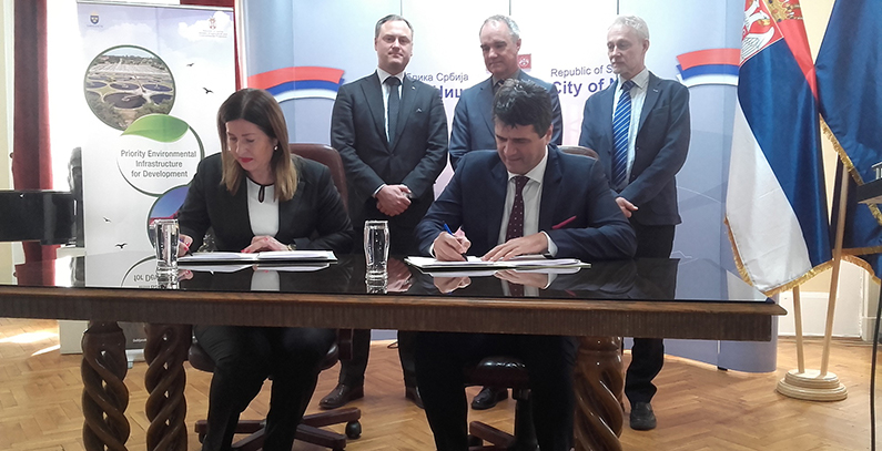 NIŠ to get wastewater treatment system