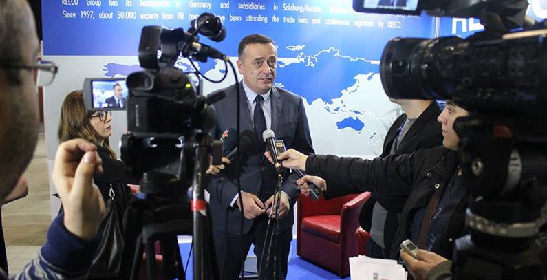 Minister Antić inaugurates  RENEXPO WATER & ENERGY 2017 in Belgrade