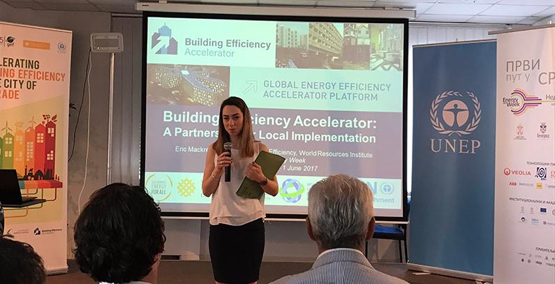 UNEP facilitating Belgrade's participation in two UN SE4All initiatives: BEA and DES workshops