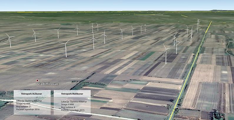 IFC, Unicredit, FMO and GGF provide loans for Elicio's Alibunar wind farm